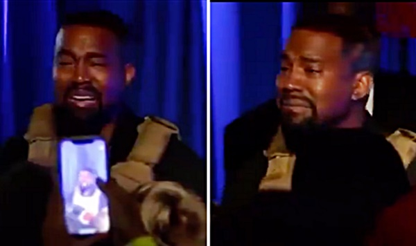 Kanye West Cries Over Harriet Tubman During Presidential Campaign