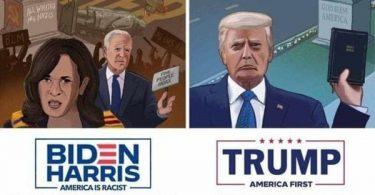Republicans Twists Truth: Biden Riots Hashtag Trending