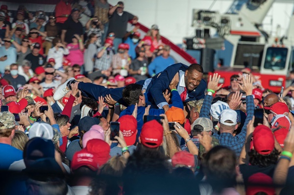 Trump GA Rally Looked Like A Wave of COVID Cases