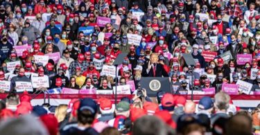 September Trump Minnesota Rally Source Of 20 Covid-19 Cases