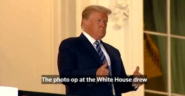 Trump Caught GASPING For Air After Testing Positive For COVID