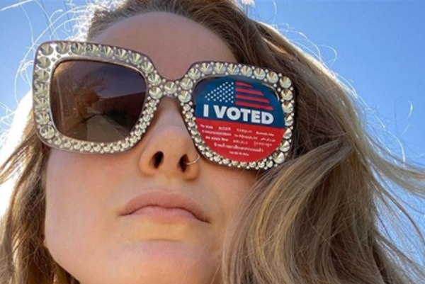 Rudy Giuliani's Daughter Says Vote Biden Harris