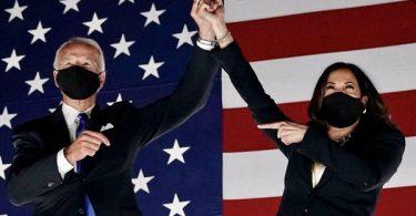 The World Congratulates President Elect Biden Harris Win