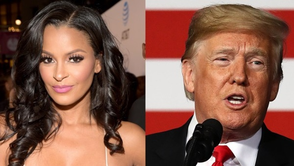 Claudia Jordan: Trump Was Only Nice To Her Because He Wanted To Smash