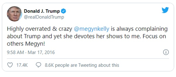 Do Republican Forget Trump's Foul Remarks About Megyn Kelly