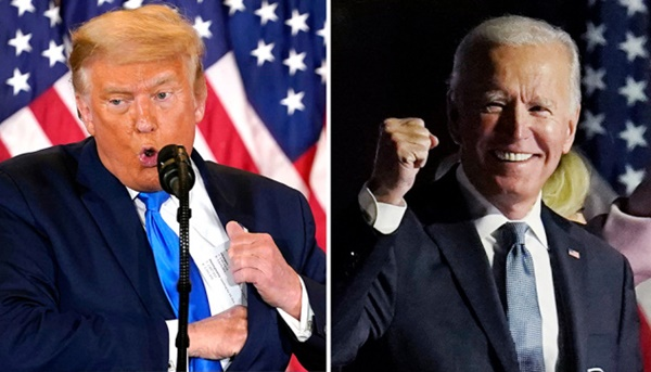 "Trump Refuses To Concede ""I Won The Election""; Joe Biden Won"
