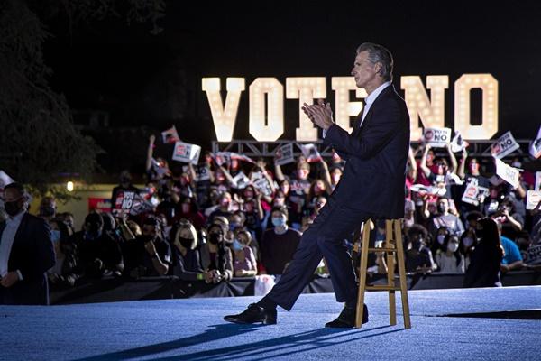 Thank You California Gavin Newsom Beats Republican Recall